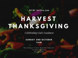 Read more about the article Harvest Thanksgiving: Celebrating God's Goodness