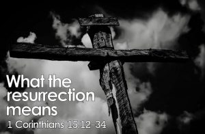 What The Resurrection Means Part 1