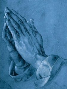 "Albrecht Durer, ""Praying Hands"""