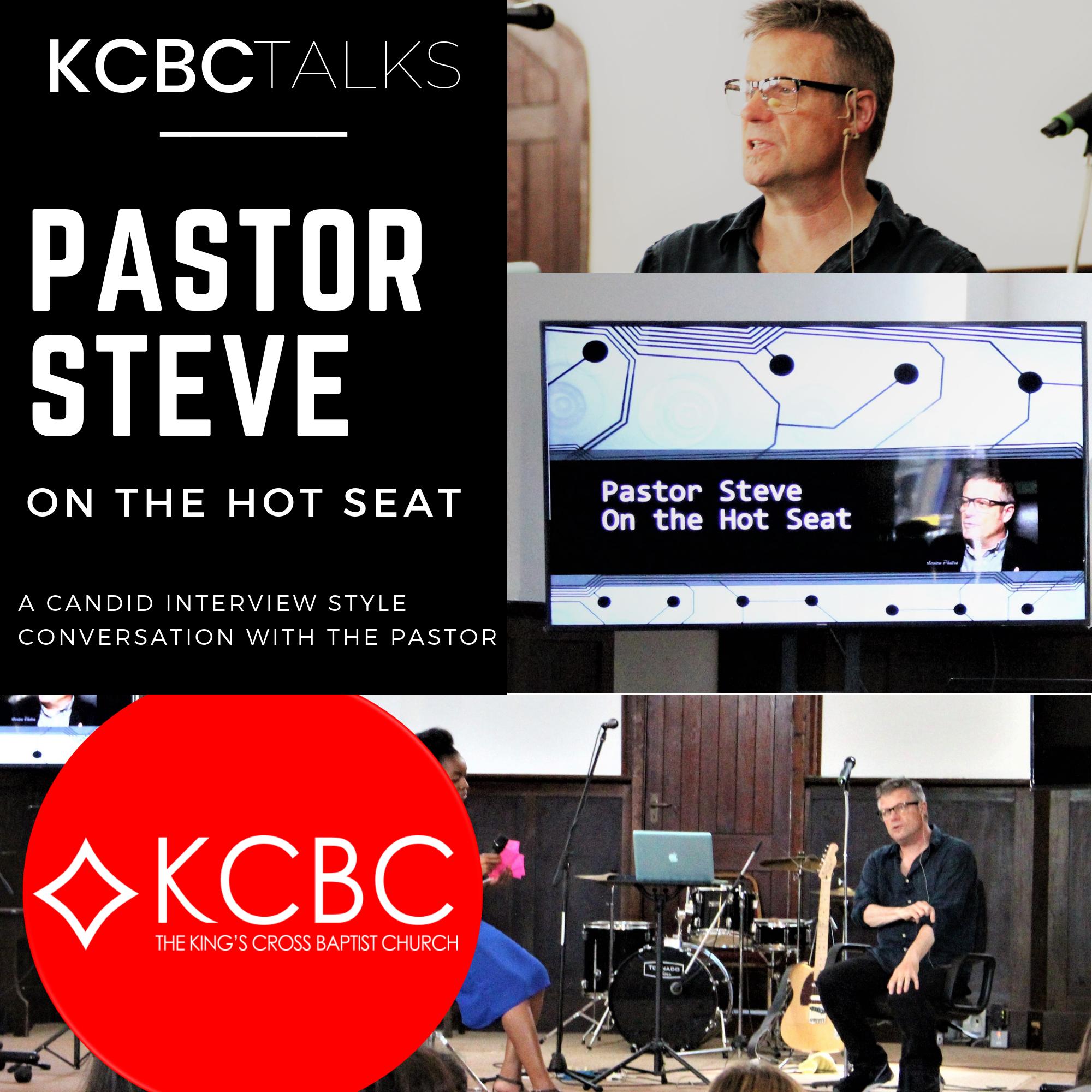 Pastor Steve On The Hot Seat