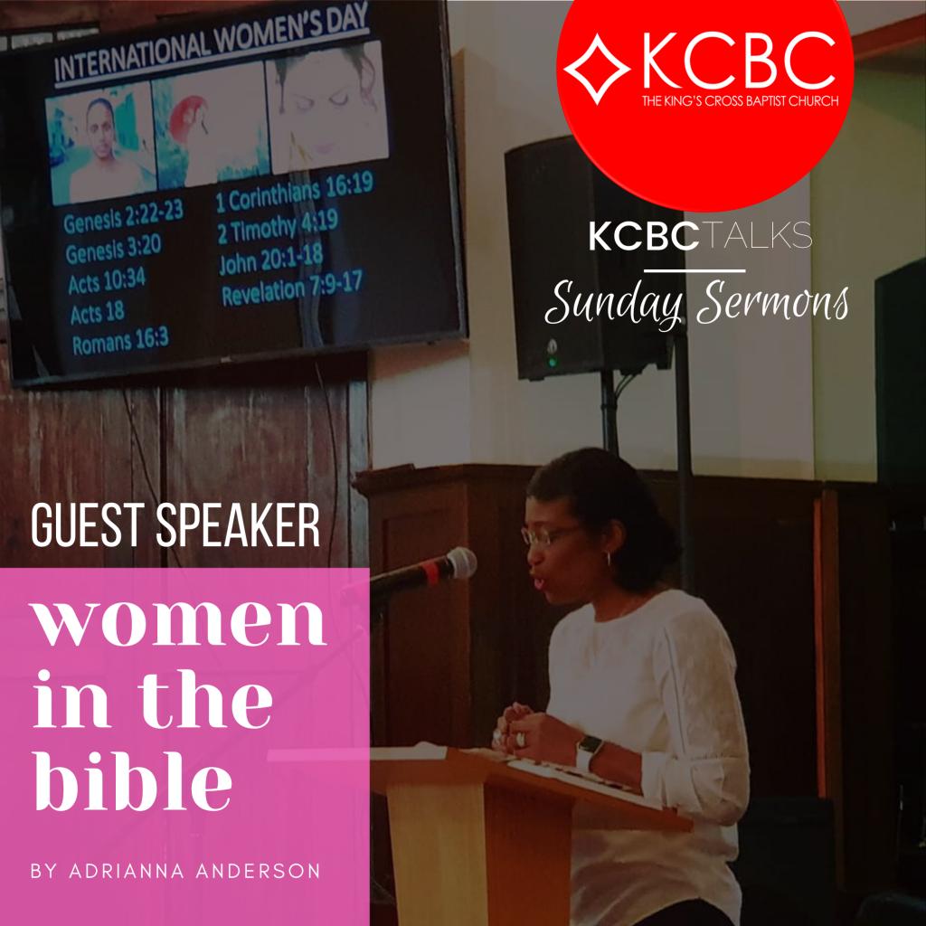 Adrianna Anderson – Guest Speaker 08-3-20
