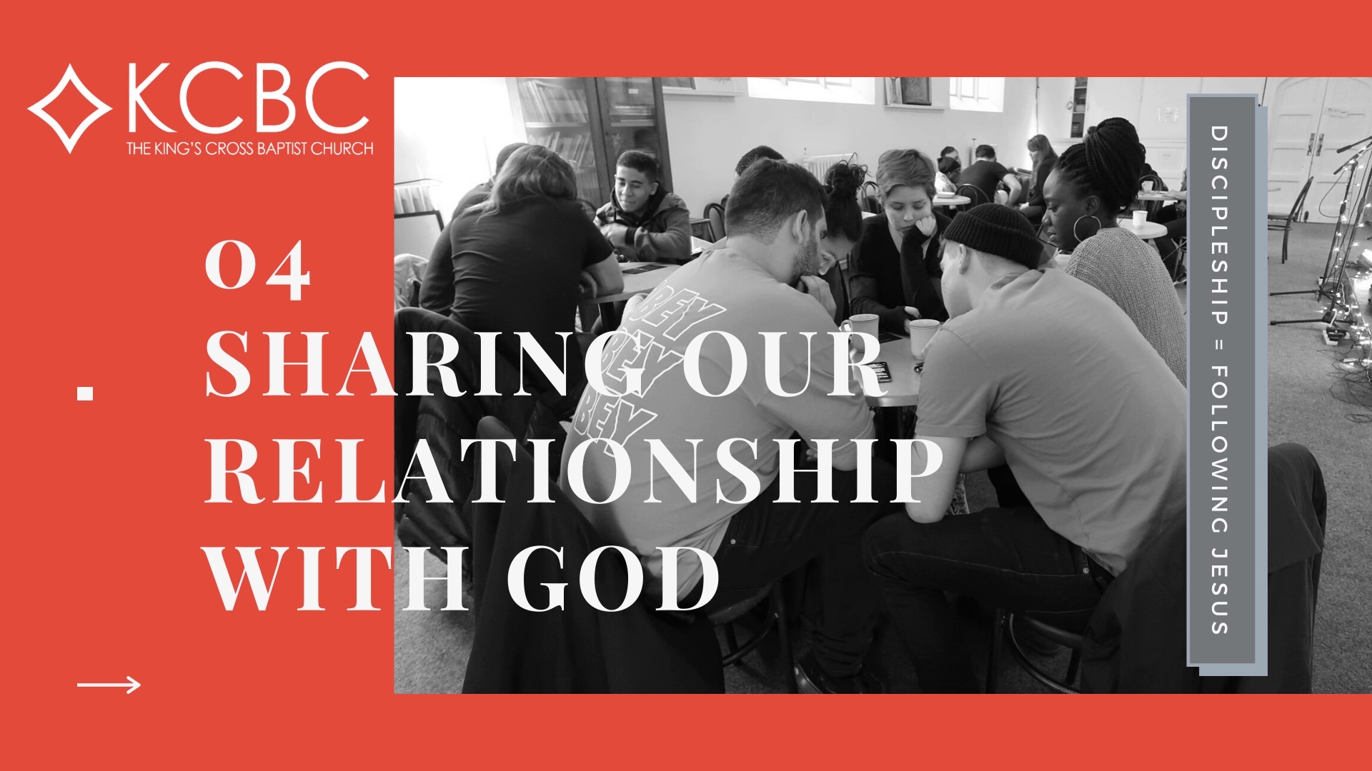 You are currently viewing Discipleship Part 4: Sharing Our Relationship with God – KCBC Sunday Message – 31 January 2021